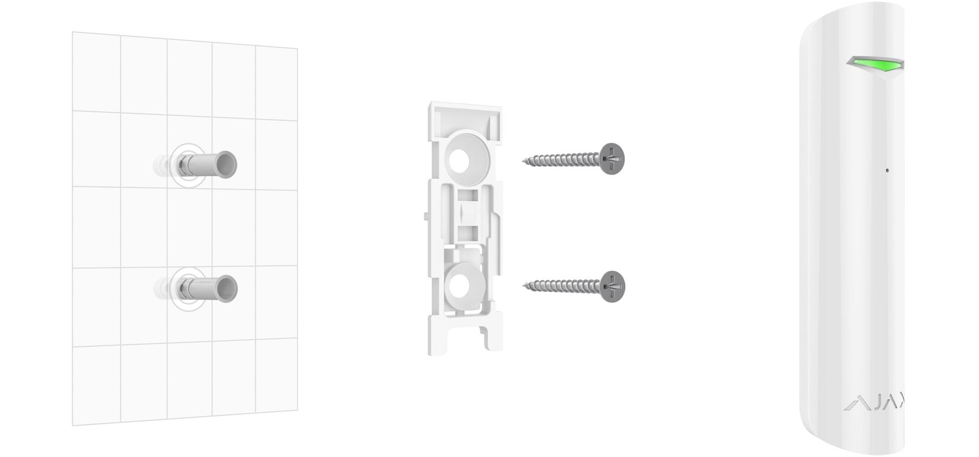 Ajax GlassProtect - bežični detektor loma stakla