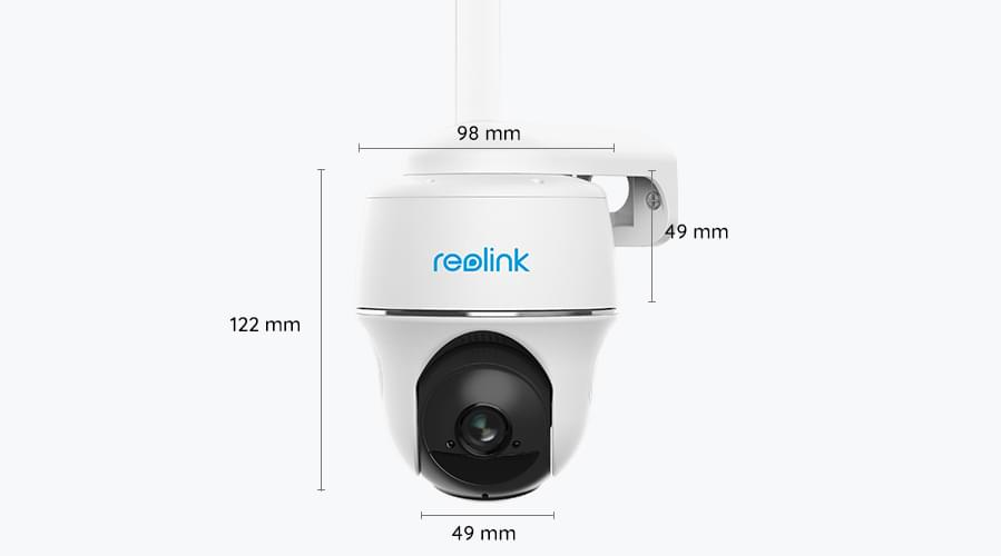Reolink Go PT dimensions